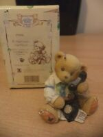 VINTAGE BOXED retired cherished teddies TEDDY BEAR membear 1996 ct002 harrison