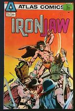 IRON JAW. NO 1. HOT BRONZE AGE 1975 ATLAS COMICS ISSUE. NEAL ADAMS COVER.