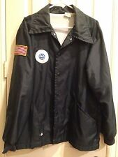Vintage Bell Telephone GREAT LAKES JACKET Lined Windbreaker w/ Patches Employee
