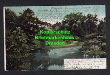 114940 AK Chemnitz 1904 Partie im Stadtpark gelaufen Russdorf Sachsen Altenburg