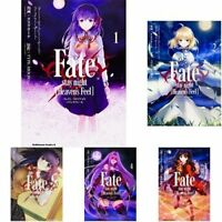 Fate / stay night [Heaven's Feel] comic 1-5 vol anime japanese manga
