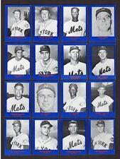 1962 NEW YORK METS Complete 30 Card Set Ashburn~Hodges~Stengel~Thomas   1982 RGI