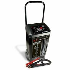 Schumacher SC1309 6/12V Wheeled Automatic Battery Charger and 40/200A Engine Sta