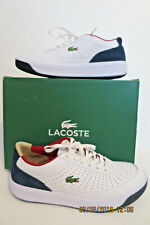 New Womens Lacoste Aceline 316 2 spw White/Navy leather/suede Sneakers sz 6