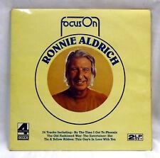 Ronnie Aldrich - Focus On - Phase 4 Stereo vinyl DOUBLE LP FOS 13/14 N/MINT