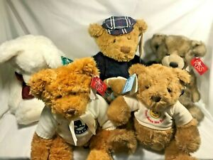 Russ bears -  Various - Still with Tags - Beautiful Condition