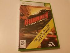 Xbox Burnout Revenge Promo UK Neuf