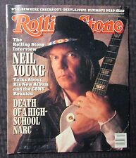 1988 ROLLING STONE Magazine #527 FN 6.0 Neil Young - Beetlejuice