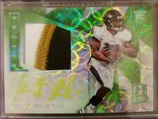 2016 KENNETH DIXON PANINI Spectra RPA Neon Green Rc AUTO PATCH 21/25 Ravens MINT