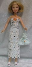 MARY KATE & ASHLEY Olsen Twins Doll Clothes #06 Dress, Necklace & Purse Set