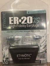 ER20XS Standard Size Etymotic Musician Hearing Protection Ear Plugs
