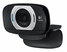 Logitech C615 HD Webcam Portable Fold-and-Go 1080P Black (960-000733)-BRAND NEW
