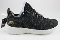 Women's Skechers Burst-After Party Black/Gold 12778/BKGD Air-Cooled Memory Foam