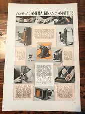 1932 Camera Tips & Tricks for Amateur Photographers Photographs