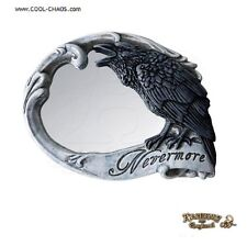 Raven Rose Skull Compact Mirror / Sexy,Romantic Gift,New,Alchemy Gothic 1977