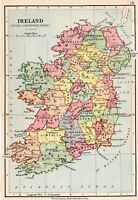 Map Of Ireland Stuart Period