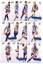 2013 Select Prime North Melbourne Team set 12 cards