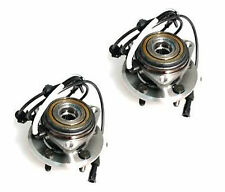 Pair: 2 New Front Wheel Hub and Bearing Assemblies Left & Right with Warranty