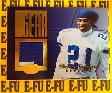 1999 Leaf Gridiron Gear DEION SANDERS 2-Color Cowboys Jersey RARE LOW #ed 31/300