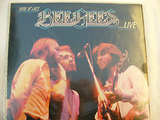 BEE GEES double lp set HERE AT LAST LIVE g/f rso 2479 188
