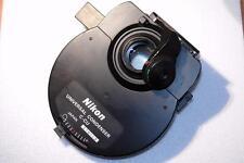 Nikon microscope c-cu universel condensateur + c-cu Turrent ccu 0.9 dry lentille