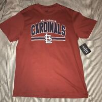 Men's Medium Brand New With Tags Red St. Louis Cardinals T-Shirt '47