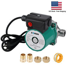 Npt 34 Hot Water Recirculating Pump 93w Circulation Pump Ss304 110vrs15 6sg