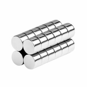 3/8 x 1/4 Inch Neodymium Rare Earth Disc Magnets N42 (24 Pack)