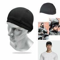 Moisture Wicking Cooling Skull Cap Helmet Inner Liner Beanie Dome Cap Sweatband