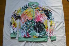 Adidas Originals Track Jacket Floral 'Pastel' - Women's size L