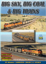 Big Sky, Big Coal & Big Trains DVD Wyoming's Powder River BNSF UP Orin Sub