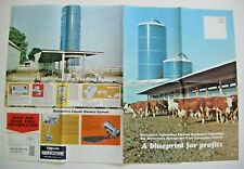 Vintage A O Smith Harvestore Automated Feeding Equipment advertising