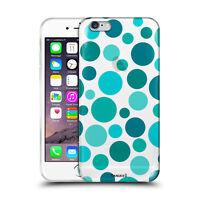 Custodia Cover Design Pois Blue Per Apple iPhone 4 4s 5 5s 5c 6 6s 7 Plus SE