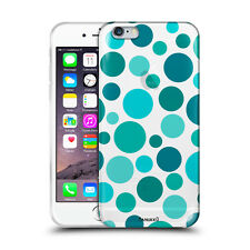 Custodia Cover Design Pois Blue Per Apple iPhone 4 4s 5 5s 5c 6 6s 7 Plus SE
