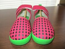 Live & Luca Watermelon Shoes Nwob Size 13