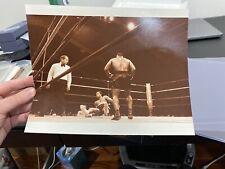 Original Photo Of Mike Tyson Vs Lorenzo Boyd Iron Mike Boxing Champion