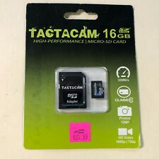 Genuine Tactacam 16GB Class 10 High, Performance Micro SD Card with Adapter