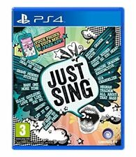 JUST SING GIOCO PS4 ITALIANO KARAOKE PLAY STATION 4 JUST DANCE MUSICA CANTO