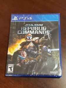 Ships Fast & Safe!  Star Wars Republic Commando - PS4 #397 - Limited Run Games
