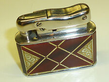 IBELO MONOPOL AUTOMATIC LIGHTER WITH NICE LACQUER CASE - 1952 - MADE IN GERMANY
