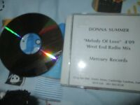 Donna Summer – Melody Of Love (West End Radio Mix) Mercury Promo CD Single