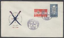 THEME EUROPEEN OTAN NATO FDC 1962 TURQUIE 1