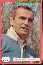 064 JEAN BARTHE EQUIPE DE FRANCE RUGBY CARTE MIROIR SPRINT 1960's RARE