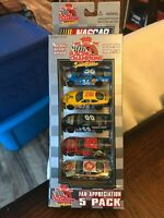 Racing Champions 10 Years NASCAR Fan Appreciation 5 pack Issue #10 New in box