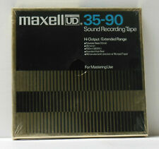 """Maxell UD 35-90 7"""" Reel to Recording Tape 1 800' Polyester"""