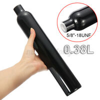 "3000PSI 0.38L Aluminum Tank Air Cyclinder Bottle For Paintball PCP 5/8""-18UNF"