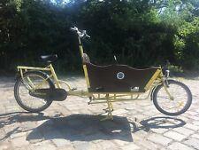 BERLIN Lastenrad Bakfiets Transportrad Kinder Transporter Nexus Schaltung