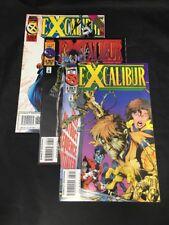 Excalibur # 87 88 89 Marvel Comics 1995 Warren Ellis Nightcrawler X-Men VF