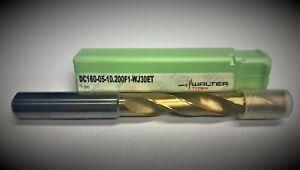 Walter Titex VHM Drill Bit DC160-05-10.200F1-WJ30ET Ø10.2 5xd With IK