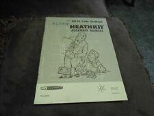 Heathkit HD-16 Original Manual